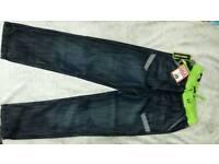 Boys clothes no fear jeans BNWT