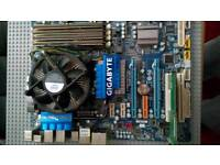 6 core 12 thread high end motherboard bundle - excellent for a gaming pc