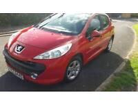 Peugeot 207 1.4 petrol 61000 mls mint £1000 recaps clutch/t/BELT