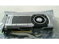 Nvidia Geforce GTX 980 boxed with driver and power connection options