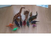 Small dinosaur collection