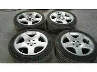 "17"" vw golf bora seat Leon wheels 5x100"