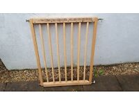 Baby gate, extendable