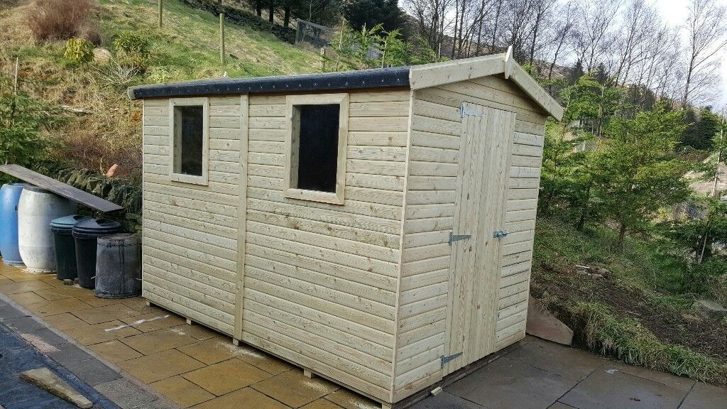 shed brand new 7x5 539 tantalised wood other styles sizes available - Garden Sheds Huddersfield