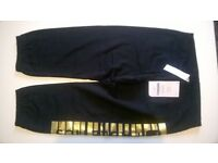 Leggins Hamilton Sweatpant Black Fabletics - size S - 6