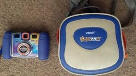 Vtech Kidizoom Twist Plus Digital Camera & Carry Bag