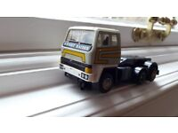 Scalextric truck and car as shown