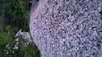 crushed stone / crushed rock