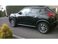 nissan juke alloy with bridgestone tyre