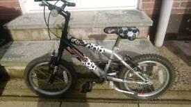 Boys 16 inch BMX bike, raleigh striker, lisburn, 45ono