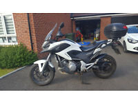 Honda NC700X with a lot of extras