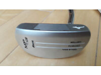 Mizuno MP-T105 putter with cover . As new