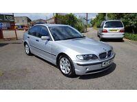 2002 BMW 3 Series 320d Diesel 4-Door 12 Mot low miles