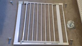 Stair Gate with Extension - Good Condition