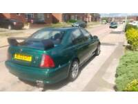 2002 mg zs one.eight litre bluetooth leds fully loaded