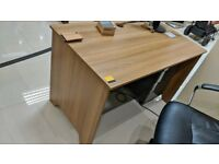 Dark Wood Effect Desk 1200mm Length 700mm Depth 700mm High in Great Condition