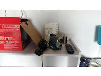 Canon MV600i Camcorder + 3 x 60 min tapes + all original accessories