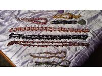 JOB LOT 8 Lovely necklaces - Crystal/shell/resin - Spiritual/Wicca/Healing