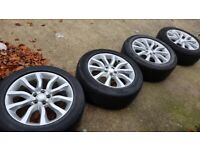 "4x 20"" genuine Range Rover alloy wheels (5x120) - Land Rover Discovery VW Transporter"