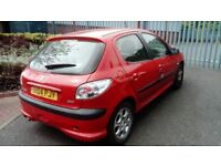 Quick sale--Peugeot 206 1.1 (2004)** 5 doors** Fitted with New Clutch** MOT expires 2 Jul 2018
