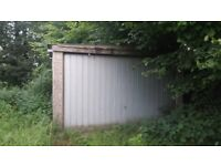 GARAGE WITH LAND TO RENT IDEAL STORAGE