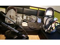 Icandy peach black jack travel set