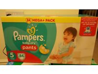 Pampers baby dry pants size 5 - 84pants 2 box
