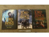 Lord of the Rings Official Illustrated Movie Companion Books.