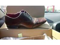 Next brown leather shoes, size 8
