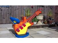 childrens Fairground fun fair carousel guitar ride rare old barbers salon hair dresser seat chair