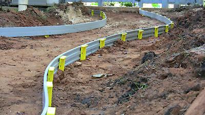 Re-Usable Bendable Flexi-FORM Plastic Concrete Flatwork Curve  -50' Roll