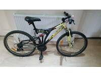 Fantastic 24inch dual suspension DECATHLON mountain bike in good condition all fully working