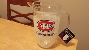 Montreal Canadiens Ice Beer Pitcher Official New 50% Off Retail