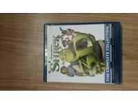shrek 3d dvd blueray boxset