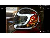 Shoei Jaust crash helmet