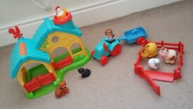 Various HappyLand sets. Priced individually but will sell as a bundle