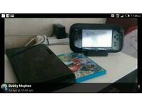 Wii u 32 gb great condition with Mario kart 8
