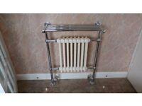 Traditional radiator/heated towel rail