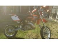 Ktm 50cc pro senoir mint little bike