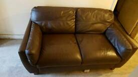 Leather sofa bargain