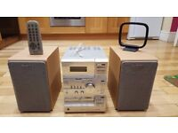 Sony HiFi System - with speakers and remote, very good condition, great sound quality