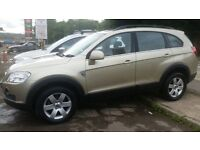 Chevrolet captiva diesel 08 plate full service history low mileage only 79000