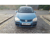 2005 volkswagen golf 1.6 blue 5dr hatchback Manual Petrol MOT aug2019 full service history