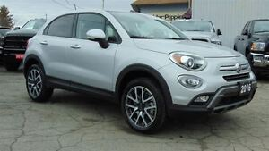 2016 Fiat 500X TREKKING PLUS AWD - NAV - ROOF-LEATHER - 715 KMS