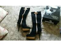 New size 8 italian boots