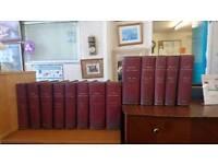 Leather Bound English Dictionary Set