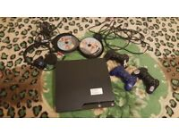 Ps3 bundle(OR BEST OFFER) 3 controllers 40 games and a headset