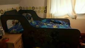 Kids single truck bed