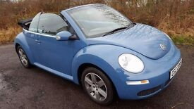 L@@K Volkswagen Beetle Cabriolet **ONLY 65000 MILES*BEAUTIFUL THROUGHOUT**Service History/2 Keys**