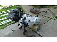 Piaggio zip 50cc engine running with all the accessories